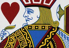 Hearts jack - stock photo
