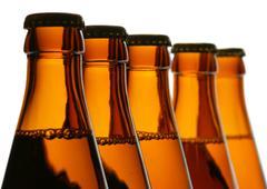 Beer bolltles - stock photo