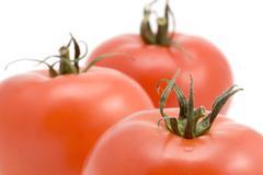 tomato macro - stock photo