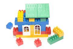 Toy house Stock Photos