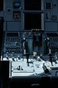 Airline Cockpit Stock Photos