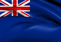 Government ensign of united kingdom Stock Illustration