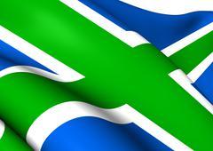 Flag of scottish highlands Piirros