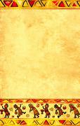 African national patterns - stock illustration
