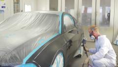Automotive Paint Job 4K. - stock footage