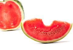 Ripe water-melon Stock Photos