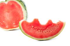 ripe water-melon - stock photo
