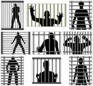 Stock Illustration of incarcerated