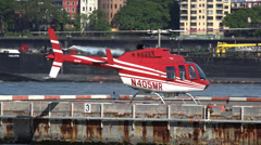 Helicopters, Aircraft, Flight, Travel Stock Footage