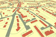 Stock Illustration of streetmap perspective