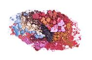 Stock Photo of crushed eyeshadow