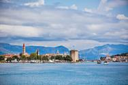 Stock Photo of trogir, croatia view from the sea