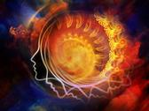 Inner Swirl Stock Illustration