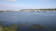 Stock Video Footage of Bembridge St Helens harbour Isle of Wight east coast