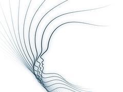 Soul Geometry Composition Stock Illustration