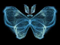 Stock Illustration of Butterfly Elegance