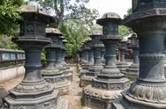 Stock Photo of stone lanterns