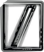 Striped symbol Stock Illustration