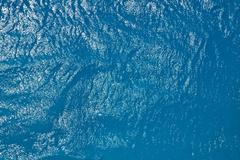 Simmering sea water surface Stock Photos