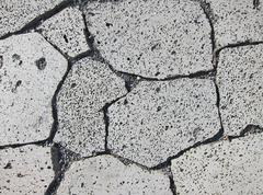Natural paving stones - stock photo