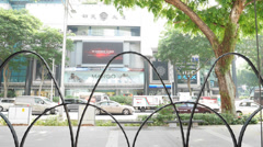 4k Ultra HD time lapse video of Orchard Road, Singapore(TL-ORCARD 1) Stock Footage