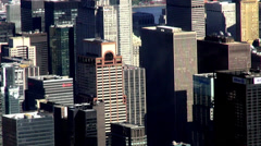City Aerial, Urban, Neighborhoods, District - stock footage