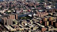 Stock Video Footage of City Aerial, Urban, Neighborhoods, District