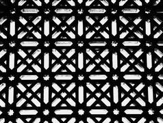 Lattice patterns Stock Photos
