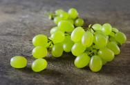 Stock Photo of green grapes