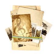 Memories - stock illustration