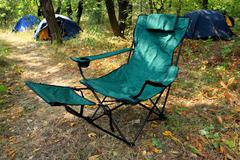 folding chair - stock photo