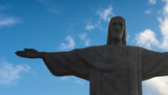 Stock Video Footage of Brazil RIO Christ the Redeemer