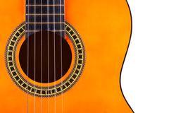 Classical acoustic guitar Stock Photos