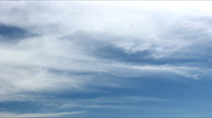 Clouds 4k lovely moving  Time Lapse weather report Stock Footage