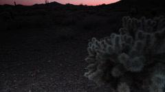 Southwest desert landscape 05r1 Stock Footage