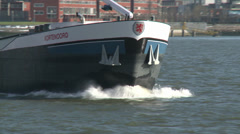 ROTTERDAM PORT SHIP 3 Stock Footage