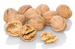 Wallnuts Stock Photos