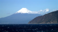 Stock Video Footage of Mount Fuji - Honshu Japan
