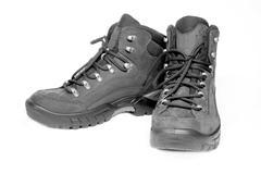 New tourist boots - stock photo
