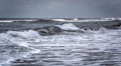 Waves on the atlantic ocean, in ocean city, new jersey. Kuvituskuvat