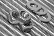 Stock Photo of Skrews, bolts and washers