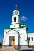 Cristian cathedral in Mirgorod - stock photo