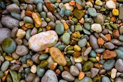 Sea pebble baclground - stock photo