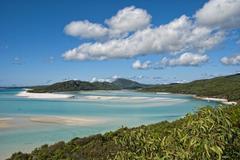 Whitsunday Islands Archipelago, Australia - stock photo