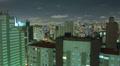 Aerial night illuminated cityscape. Sao Paulo, Brazil Timelapse Footage