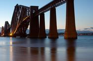Stock Photo of forth bridge