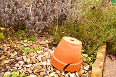 Terracotta pot Stock Photos