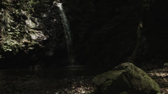 Tiny waterfall, non color-graded Full HD (1920x1080) Stock Footage