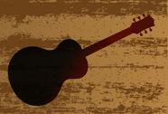 Stock Illustration of guitar brand