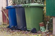 Stock Photo of bins